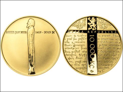 10000 Kč – 600. výročí úmrtí Jana Husa (2015)