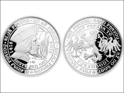 Medaile Jan Hus (2015)
