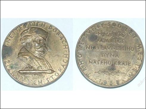 Medaile Jan Žižka, Trhové Sviny (1938)