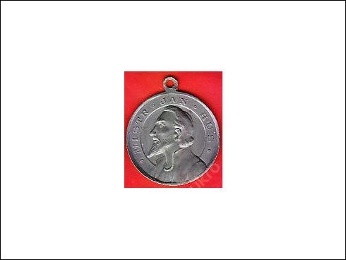 Medaile s ouškem – Jan Hus (?)