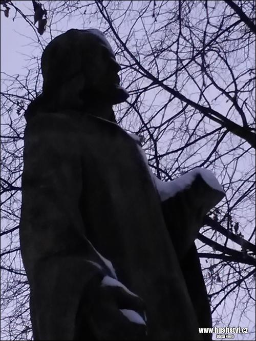 Kyšice (u Plzně) - památník Jana Husa