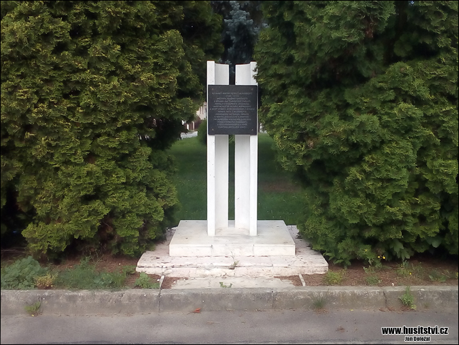Mladoňovice - památník Petra z Mladoňovic