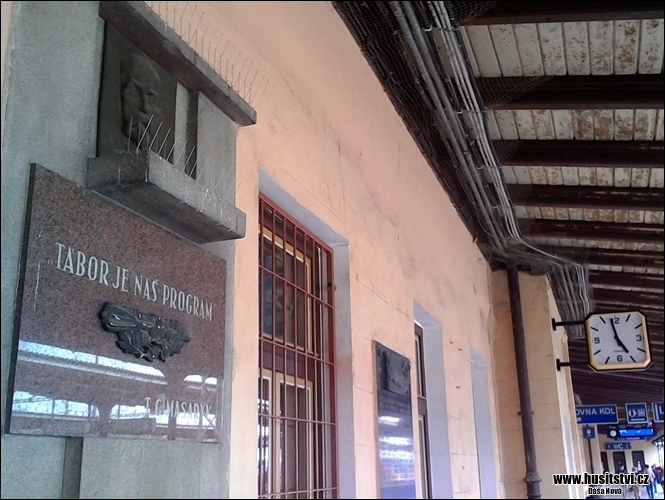 Tábor - nádraží (T.G. Masaryk)