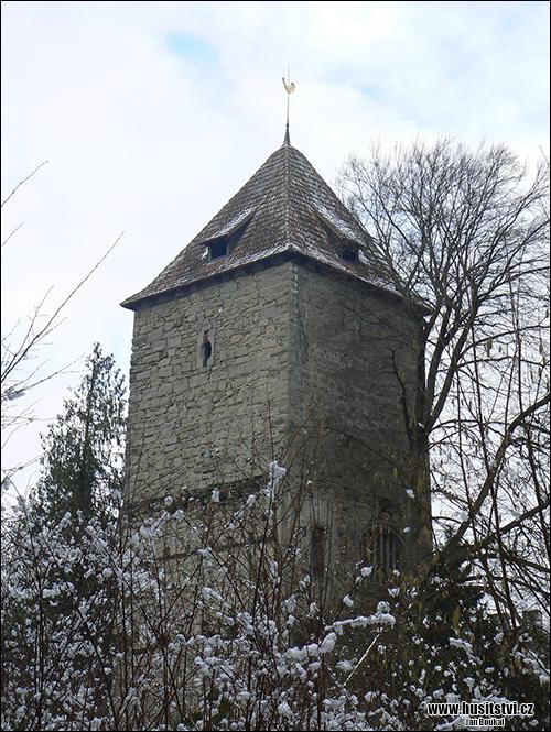 Gottlieben (CH) - vězení Jana Husa (v jedné z věží)