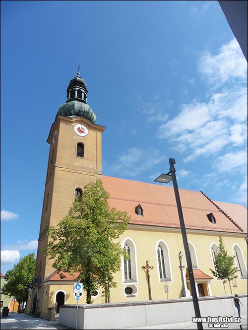 Hirschau (Hiršava, D) - osudové město Jeronýma Pražského