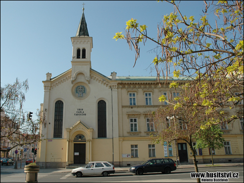 Plzeň, Husova ul. (CČSH)