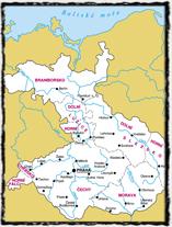 Země Koruny české na sklonku vlády císaře a krále Karla IV.