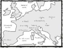 Evropské univerzity v druhé polovině 14. století.  copyright http://www.techmania.cz