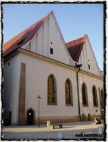 Dnešní stav Betlémské kaple po její opětovné výstavbě z 50. let 20. století. copyright http://husitstvi.cz