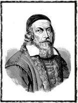 Jan Amos Komenský, poslední biskup Jednoty bratrské a jeden z nejvýznamnějších Husových duchovních následovníků. Copyright https://upload.wikimedia.org
