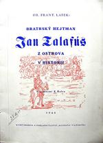 Lašek František - Bratrský hejtman Jan Talafús z Ostrova v historii