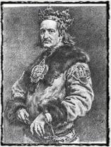 Polský král Vladislav II. Jagello (obraz z 19. století).