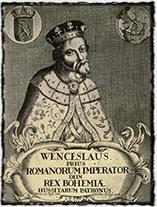 Anonymní zobrazení Václava IV. v době kolem zasedání koncilu v Kostnici