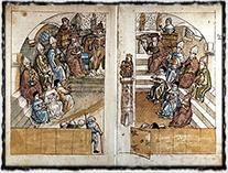 Zasedání kostnického koncilu (neznámé dílo z druhé poloviny 15. století)