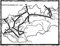 Husité na Slovensku 1428 - 1435, zdroj: Šmahel F. - Husitská revoluce 3 (Kronika válečných let)