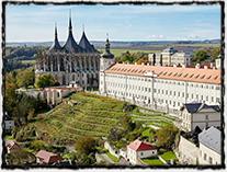 Kutná Hora, kde byl uzavřen památný náboženský smír v r. 1485.