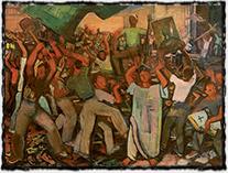 Georges (Karpeles) Kars - Obrazoborectví, olej na plátně z r. 1936. (zdroj: http://www.artnet.com).