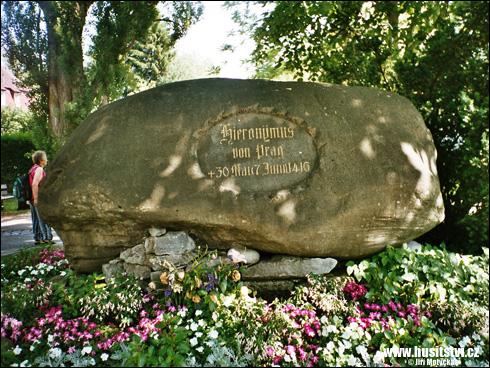 Konstanz (Kostnice, D) - Husův kámen [foto: Jiří Motyčka, © www.husitstvi.cz]