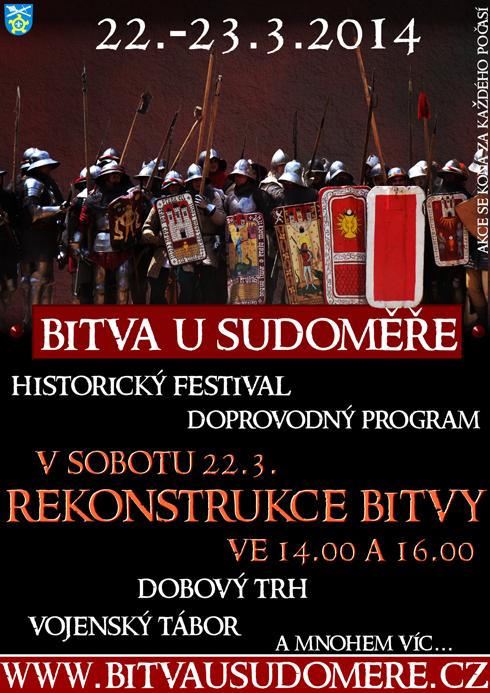 Rekonstrukce bitvy u Sudoměře (Sudoměř, 22.03.2014)