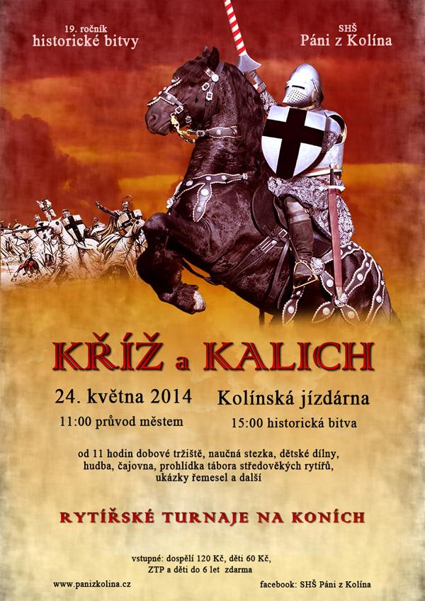 Kříž a kalich - 19. ročník historické bitvy (Kolín, 24.05.2014)