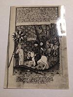 POHLEDNICE Žižka v čele táborských vojsk z Jenského kodexu (poč. 16. stol.)