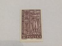 ZNÁMKA (PL) 550. výročí Bitvy u Grunwaldu 60 gr