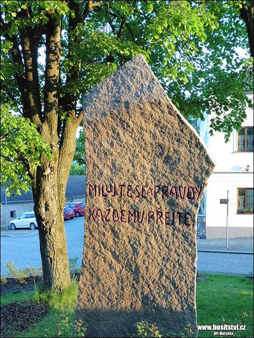 Lipnice nad Sázavou – památník Jana Husa