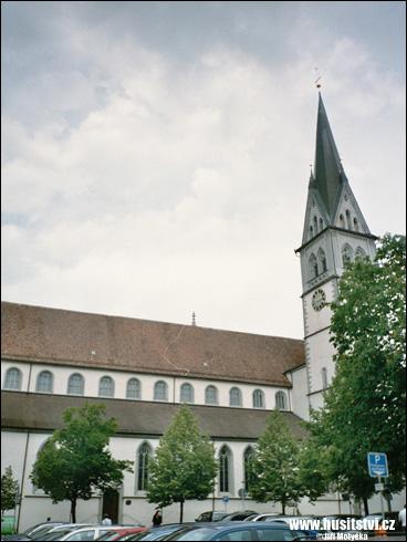 Konstanz (Kostnice, D) – Kostel sv. Štěpána