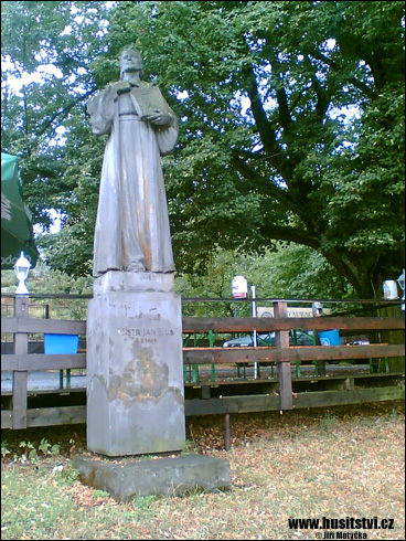 Klenčí pod Čerchovem – památník Jana Husa