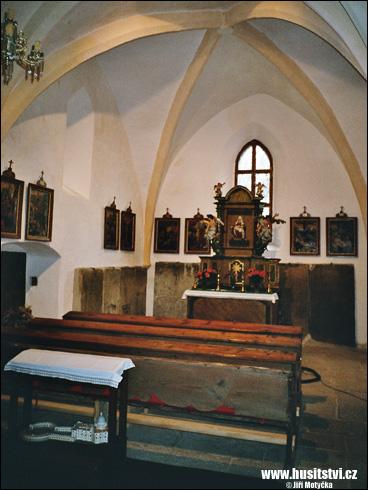 Putim – kostel sv. Vavřince