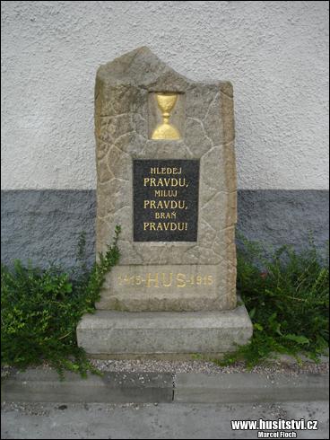 Krásná Hora - památník Jana Husa [foto: Marcel Floch, © www.husitstvi.cz]