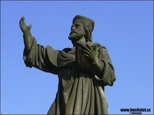 Jičín – památník Jana Husa
