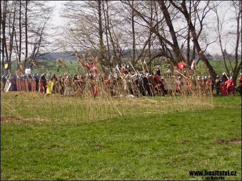 Rekonstrukce bitvy u Sudoměře (Dohalice, 31.03.2007)