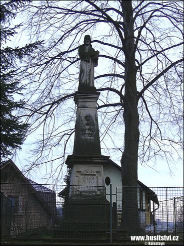 Benešov u Semil – památník Jana Husa