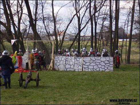 Rekonstrukce bitev Mladá Vožice, Sedlec, … (Dohalice, 29.03.2008)