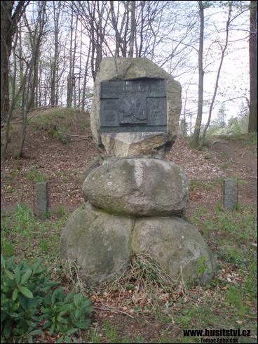 Hradiště u Nasavrk – památník Jana Husa