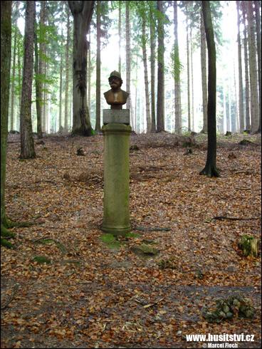 Dobrá voda – památník Jana Žižky