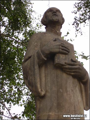 Malšovice u Hradce Králové - památník Jana Husa [foto: Jiří Motyčka, © www.husitstvi.cz]
