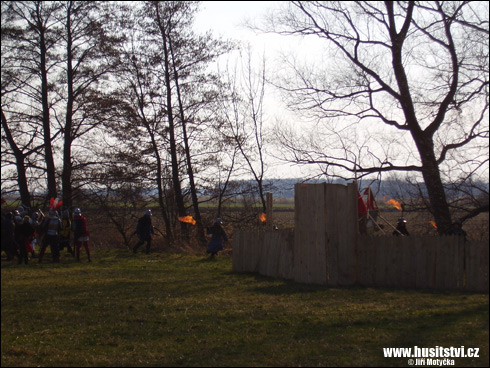 Rekonstrukce bitev Benešov, Poříčí (Mokrovousy, 21.03.2009)