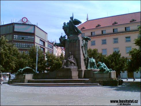 Praha – památník Františka Palackého