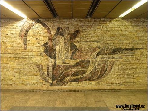 Praha – stanice metra Želivského
