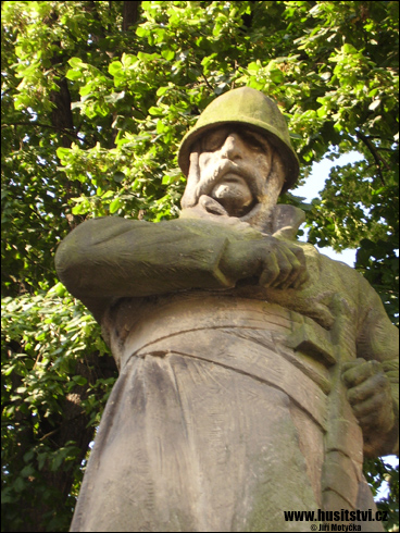 Vodňany – památník Jana Žižky