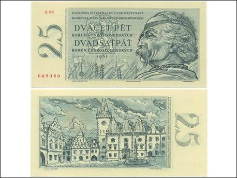 25 Kčs – Jan Žižka z Trocnova (1961)