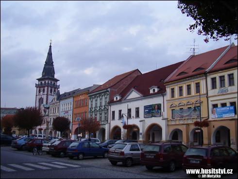 Chomutov – město dobyté Žižkou r. 1421