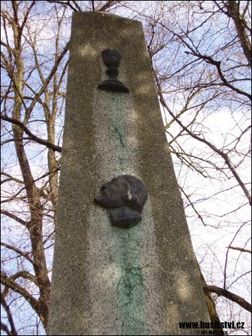 Morašice (u Přelouče) – památník Jana Husa