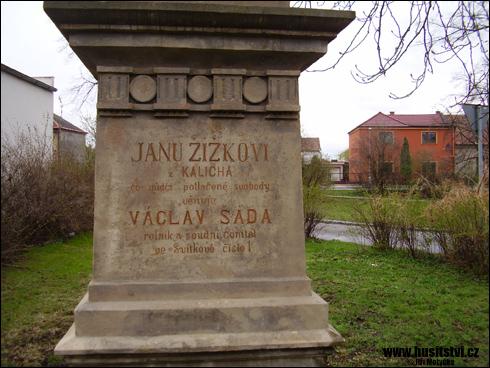 Pardubice (Svítkov) – památník Jana Žižky