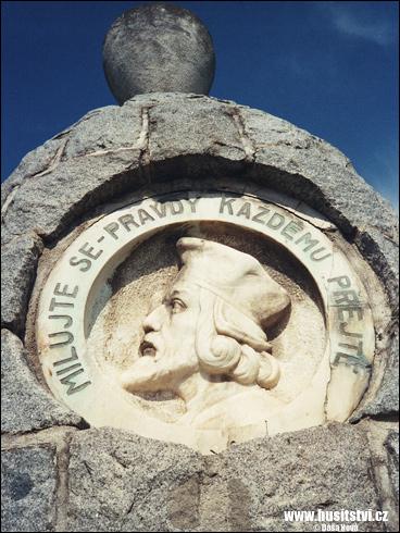 Křimice – památník Jana Husa