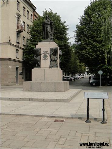 Kaunas (LT) – památník velkoknížeti Vitoldovi Velikému