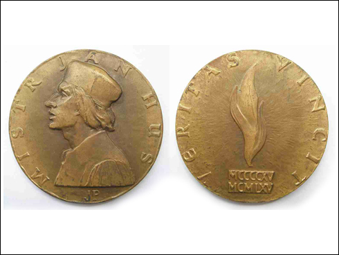 Medaile – Mistr Jan Hus (1965)