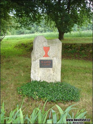 Volichov u Lipnice nad Sázavou – památníček Jana Husa